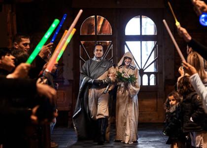 Ola & Franck | Ślub z Gwiezdnych Wojen
