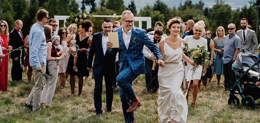 J&M wesele i ceremonia w plenerze