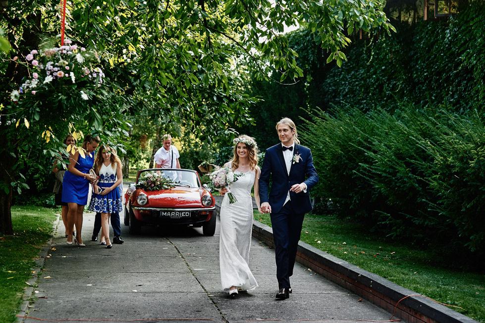 para młoda na weselu, wianek ślubna
