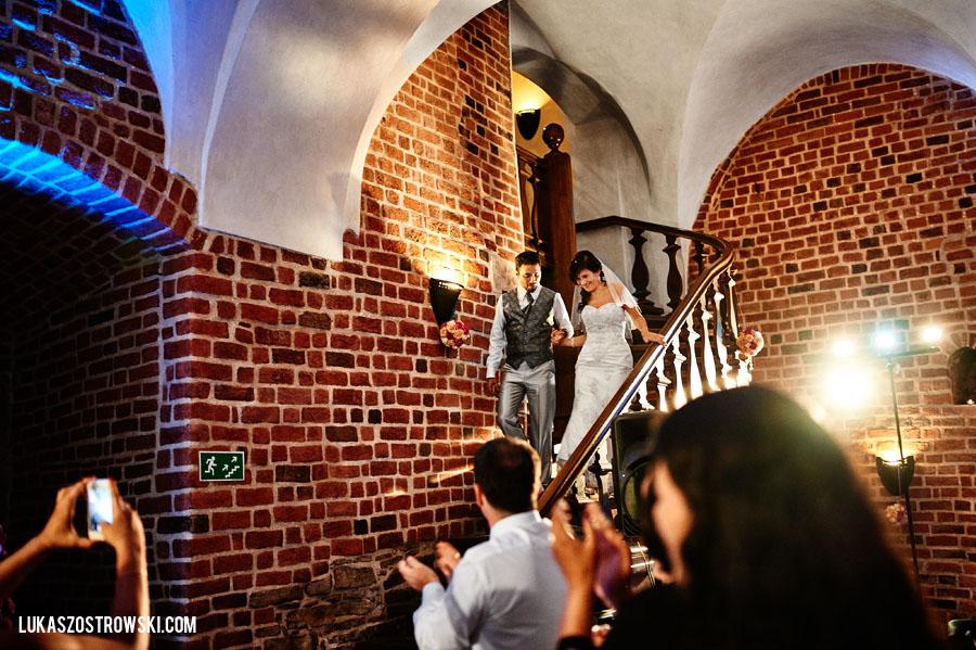 wesele i ślub zamek Niepołomice