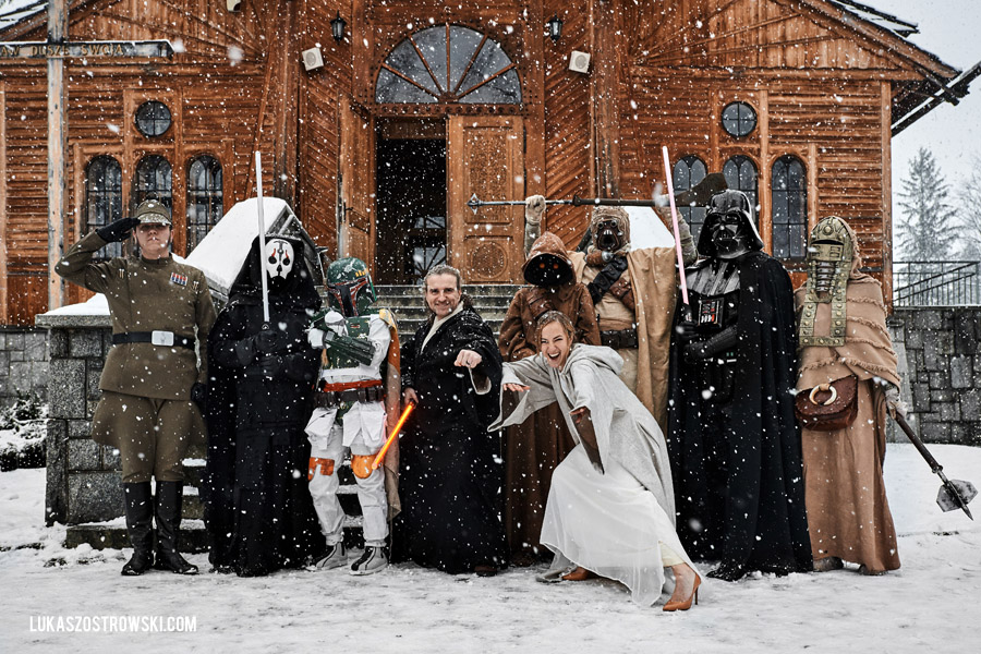 Ślub i wesele w stylu star wars