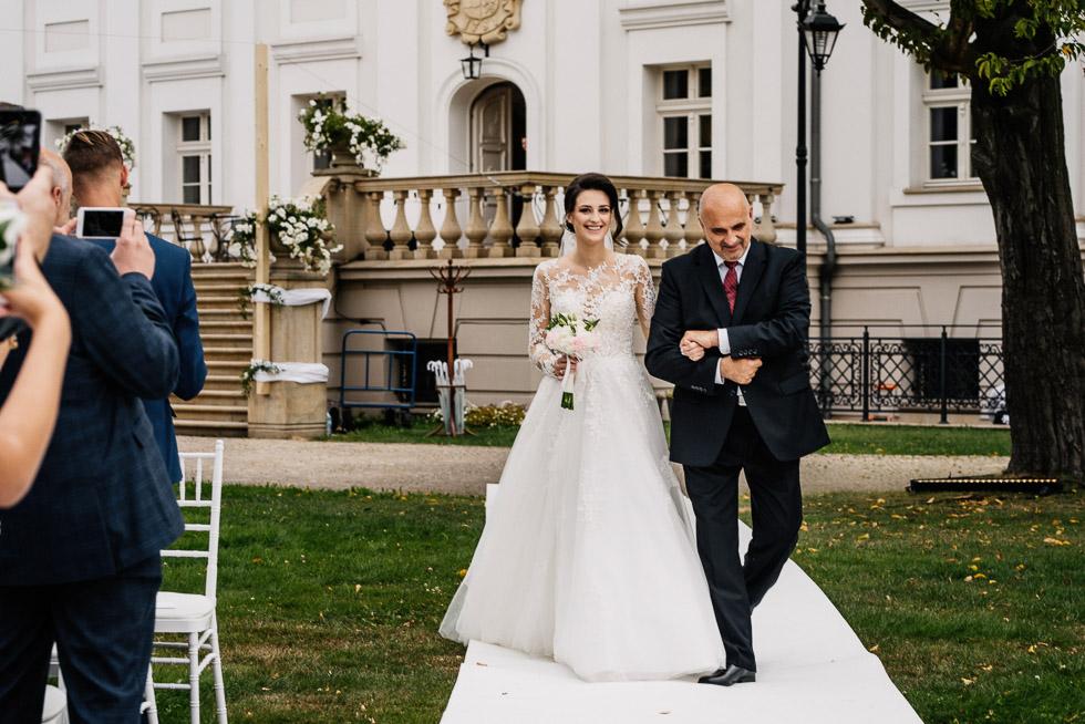 Pałac Borynia wesele i ceremonia w plenerze